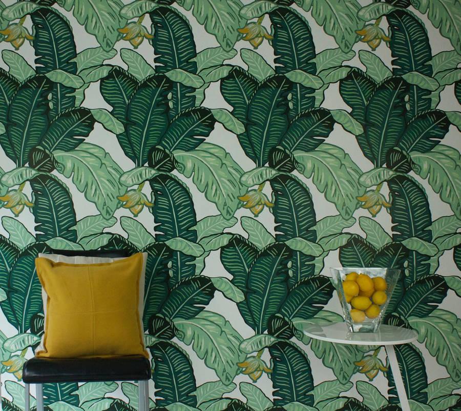Feuilles De Luxe Wallpaper -  The Loft & Us  £87.50