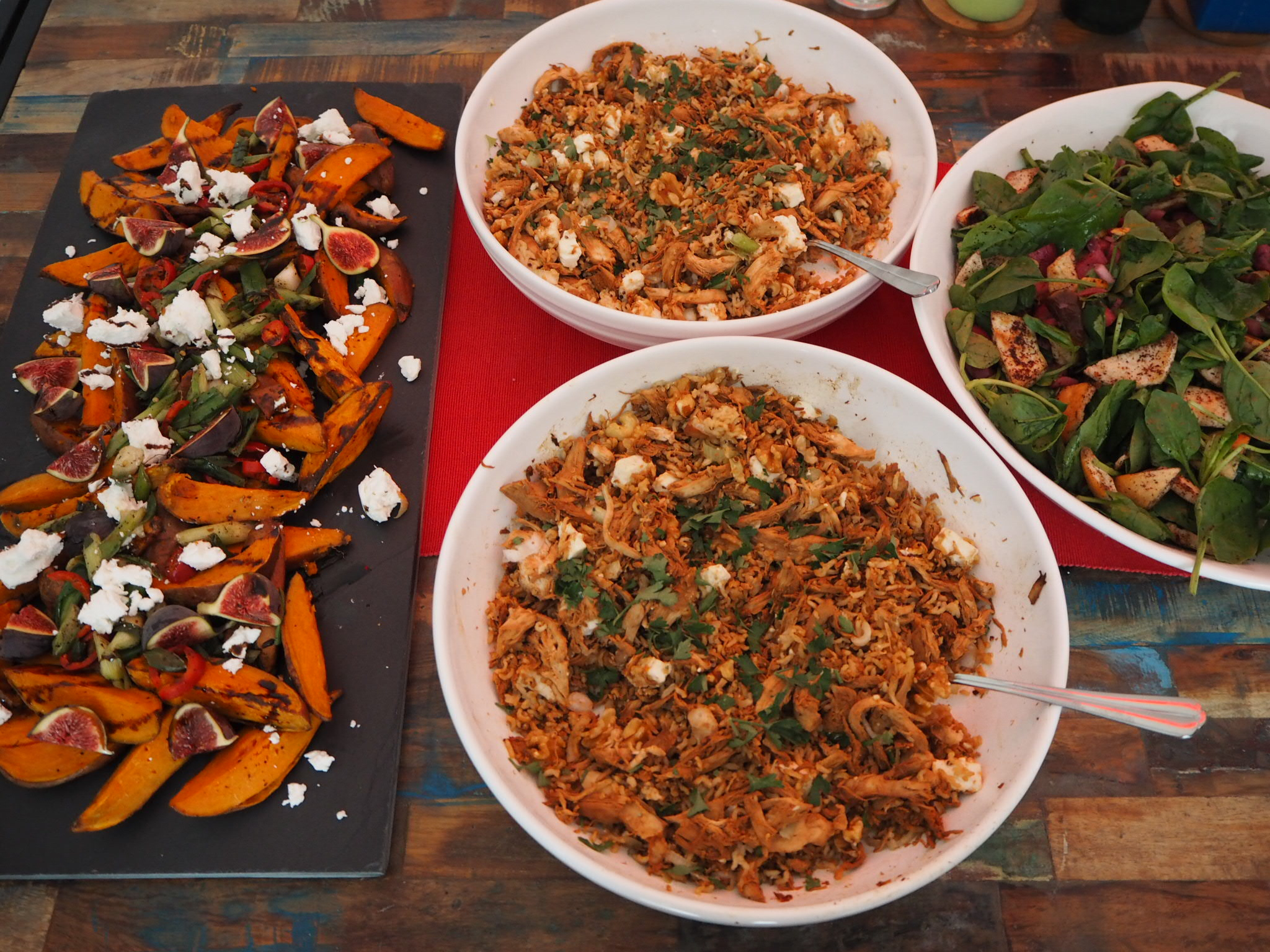 Recipes courtesy of  Jerusalem  by Ottolenghi and  Kitchen Diaries  by Nigel Slater.