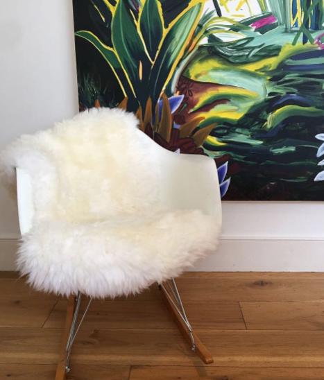 Luxury Cornish Ivory Sheepskin  £80
