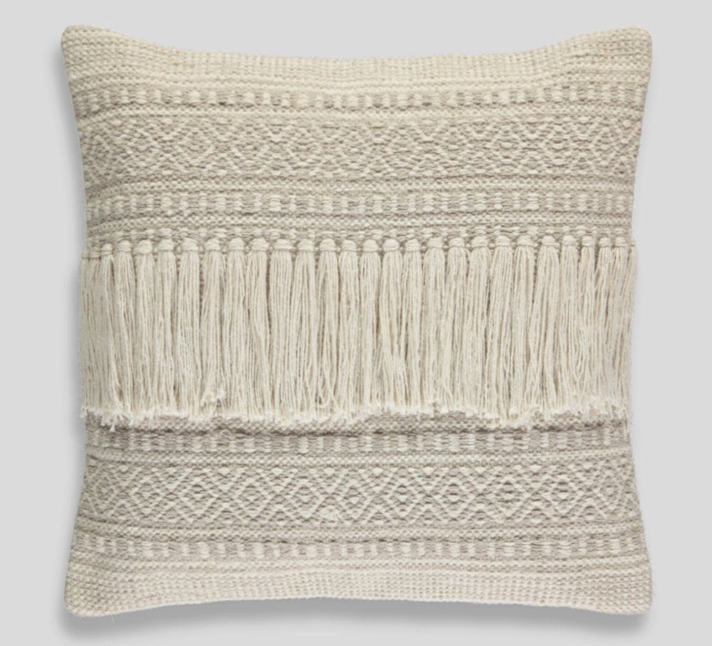 Fringed Cushion , Matalan £12