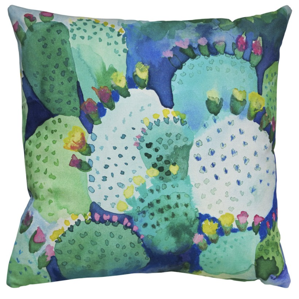 Cactus Cushion , Bluebell Gray £50