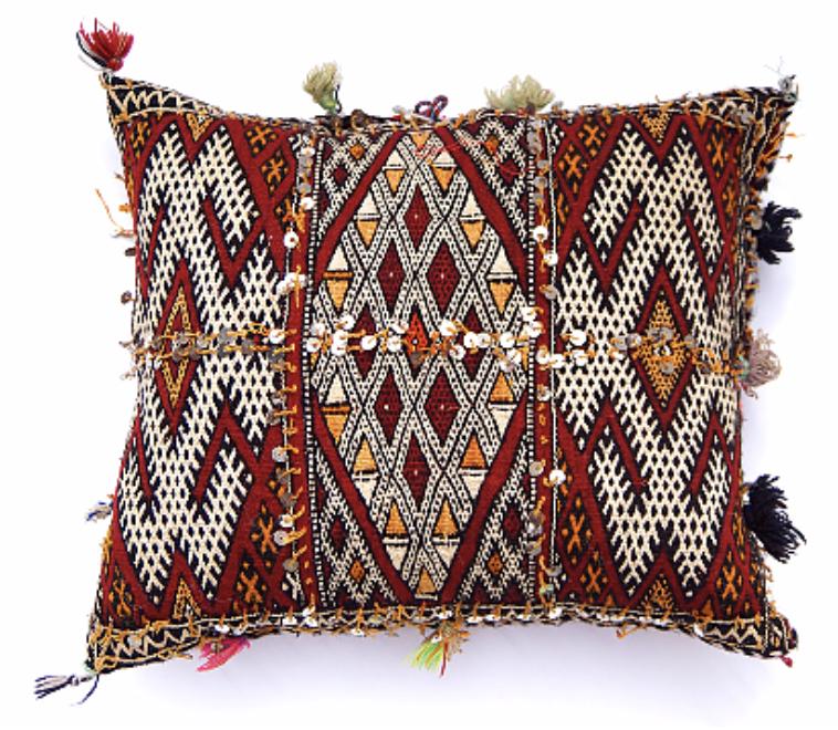 Berber Kilim Cushion , Dar Beida Moroccan Living £58