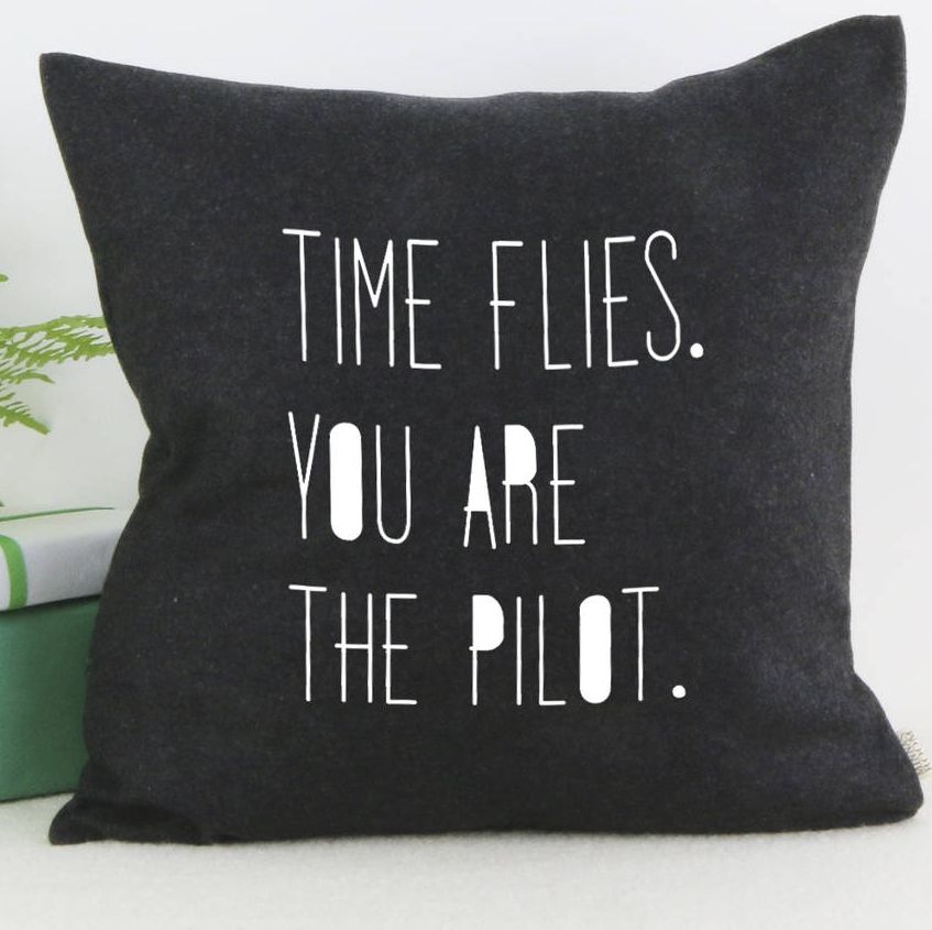 Time Flies Cushion , Minna's Room at NOTHS £24
