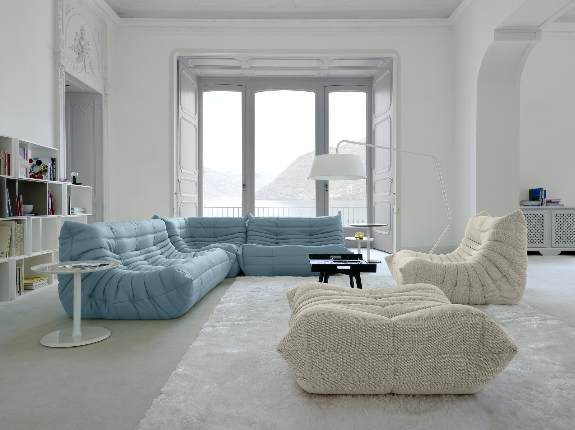 THE DREAM. I have lusted over the Ligne Roset Togo for 15 years. Photography:  Ligne Roset
