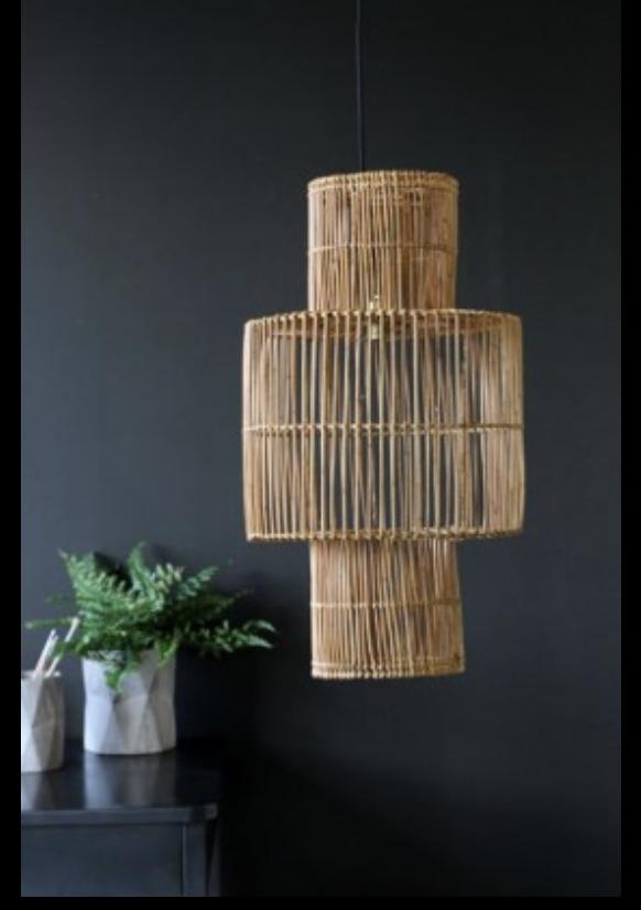 Rattan Lamp Shade , Rockett St George £160