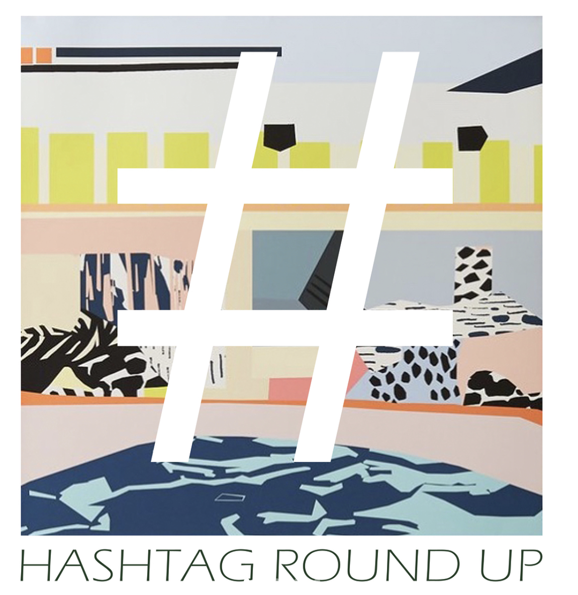 The essential  Hashtag Round Up  from Sam at  Eclectic Street .