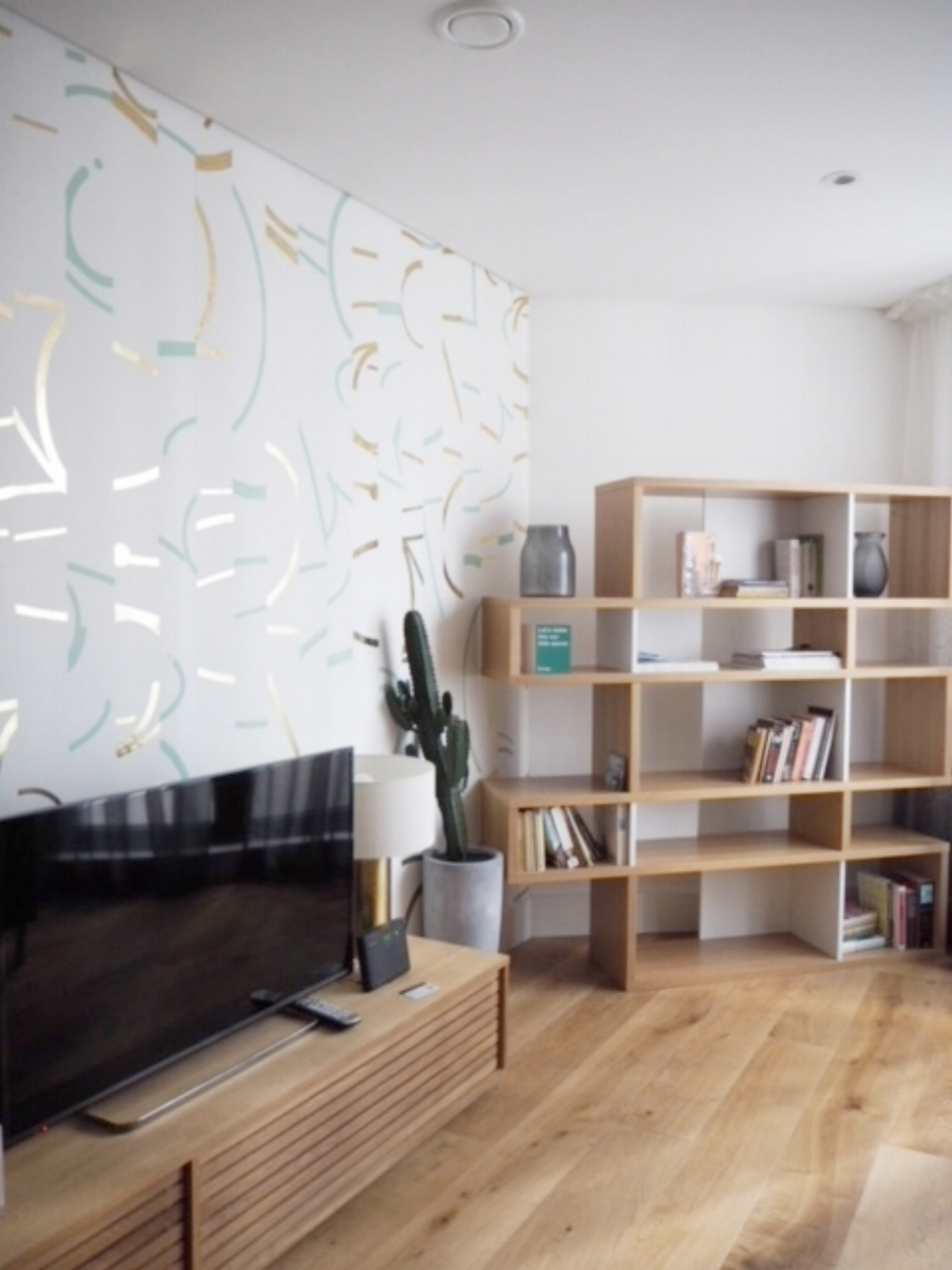 Fab living space designed by  2LG .