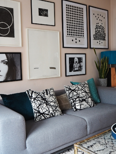 Bianca Hall  knows how to hang a gallery wall.