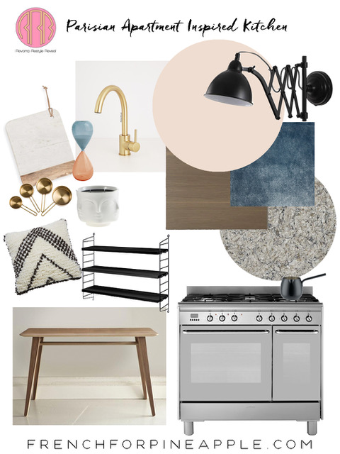 Bianca's super cool Revamp Restyle Reveal kitchen plans.