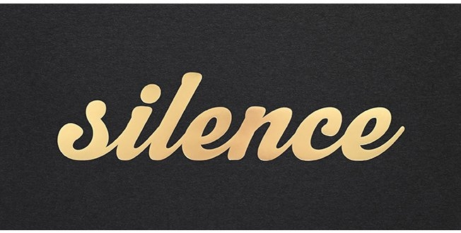 Bianca Hall 'Silence Is Golden'  - £75
