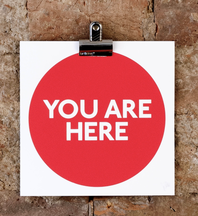 Sarah Boris for Nelly Duff , 'You Are Here' - £15