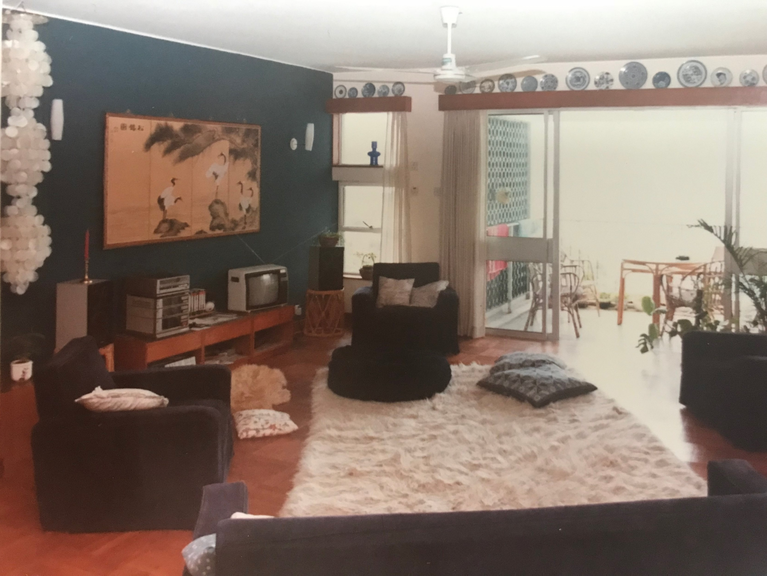 Our family home in Hong Kong. My mum moved those sofas about more times than she made hot dinners.