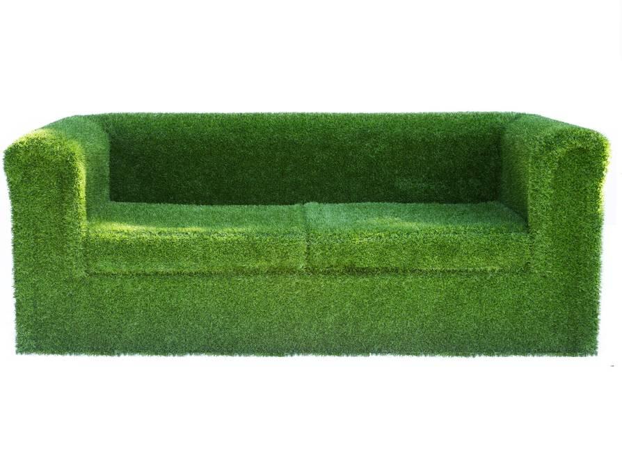 Artificial Landscapes -  Grass garden sofa £900