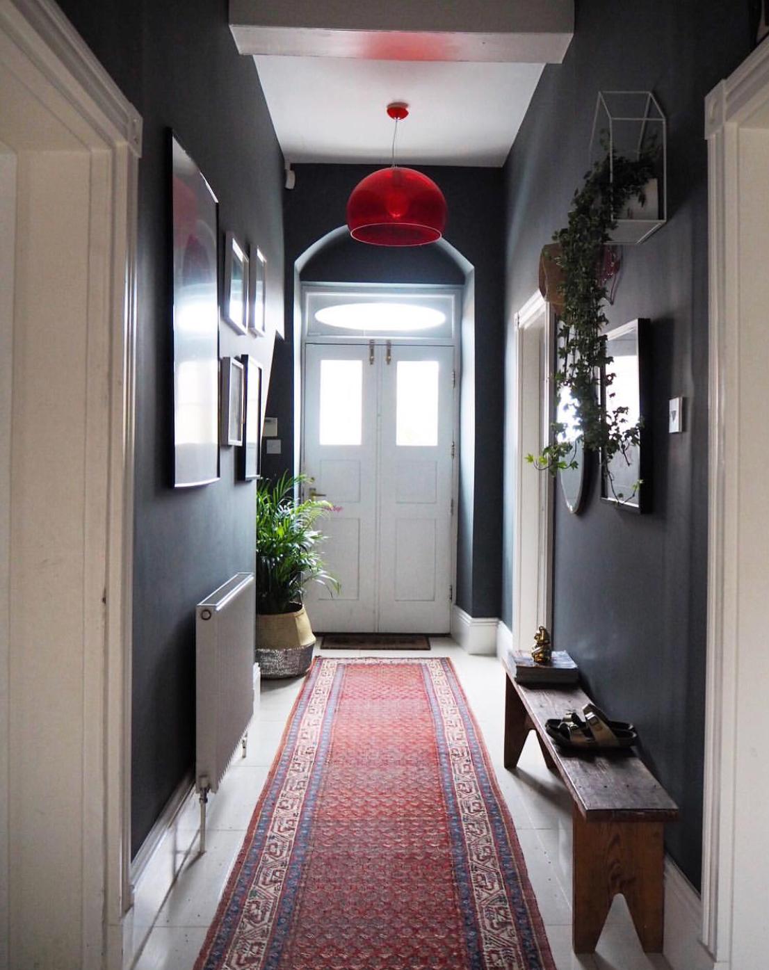 Before: Rear Hallway