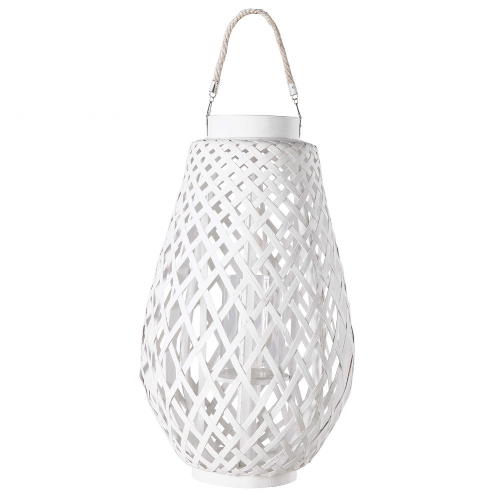 White Woven Lantern , Maisons Du Monde £43.13