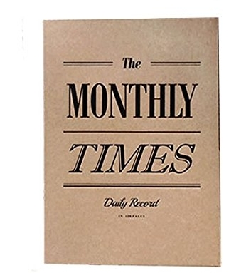 Seeso Graphics The Monthly Times Notebook - Amazon £13.50