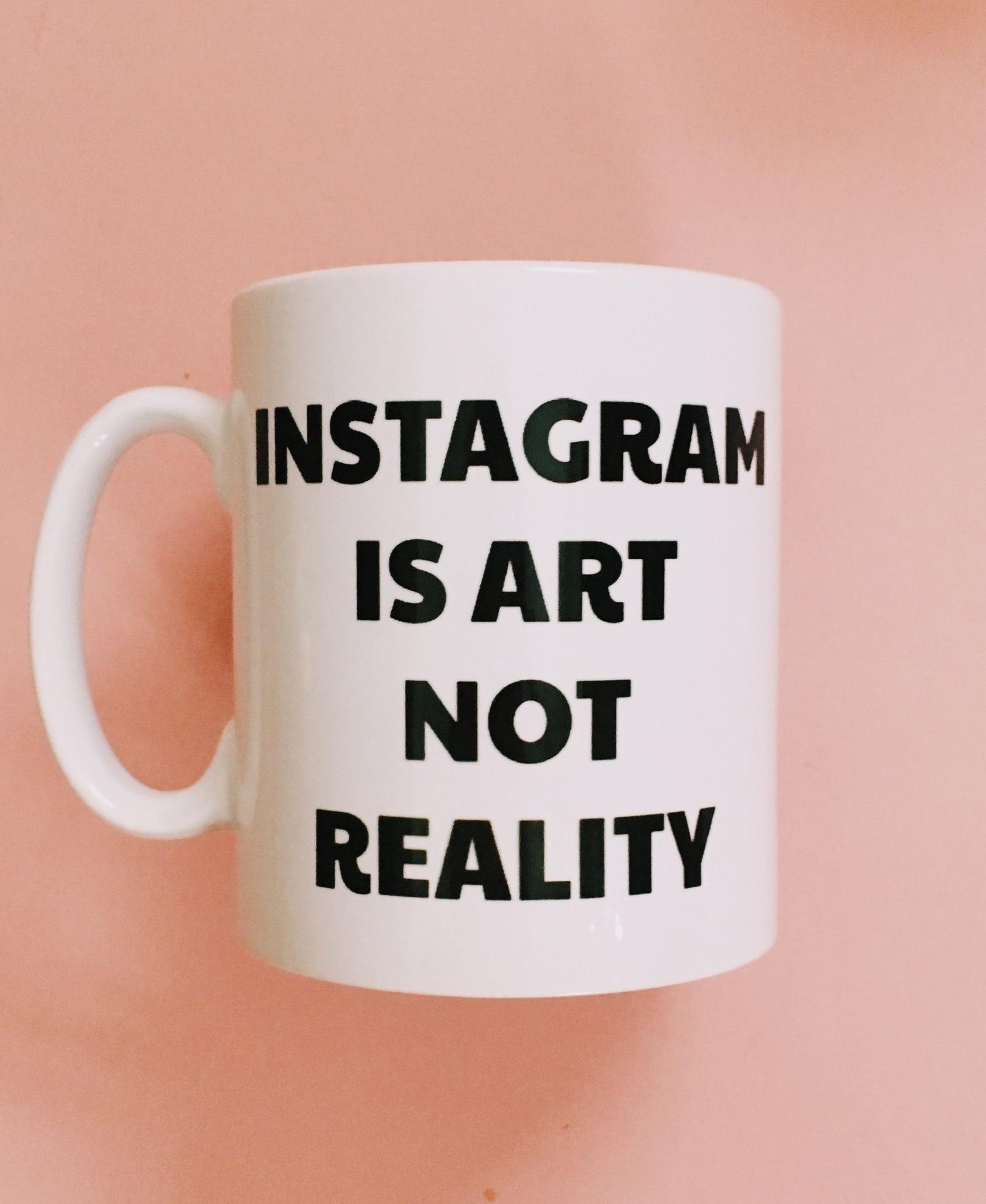 Instagram Is Art Mug  - £10  Coco Roses Apparel