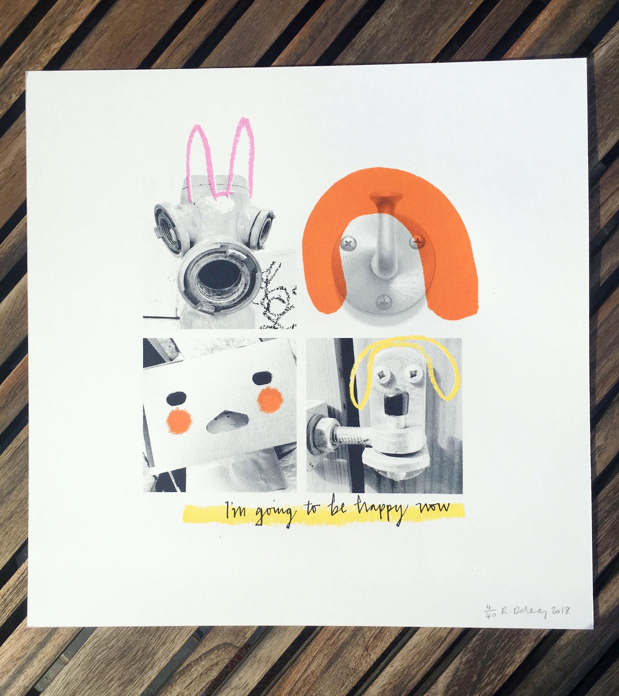 Happy Now Print  - £25  Tictail, Romaine Delaney