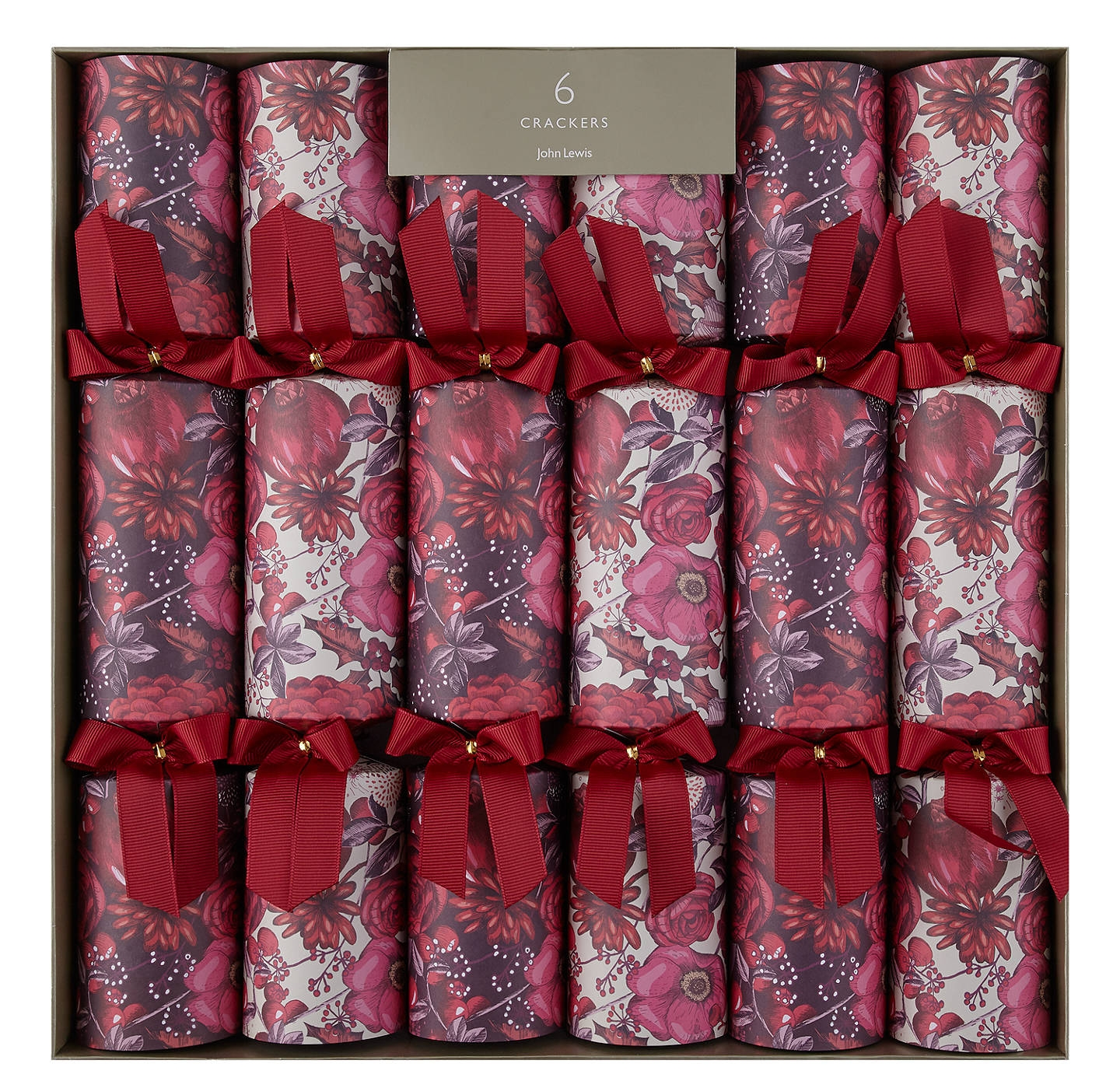 Fruits & Florals Luxury Crackers   John Lewis - £20 for six