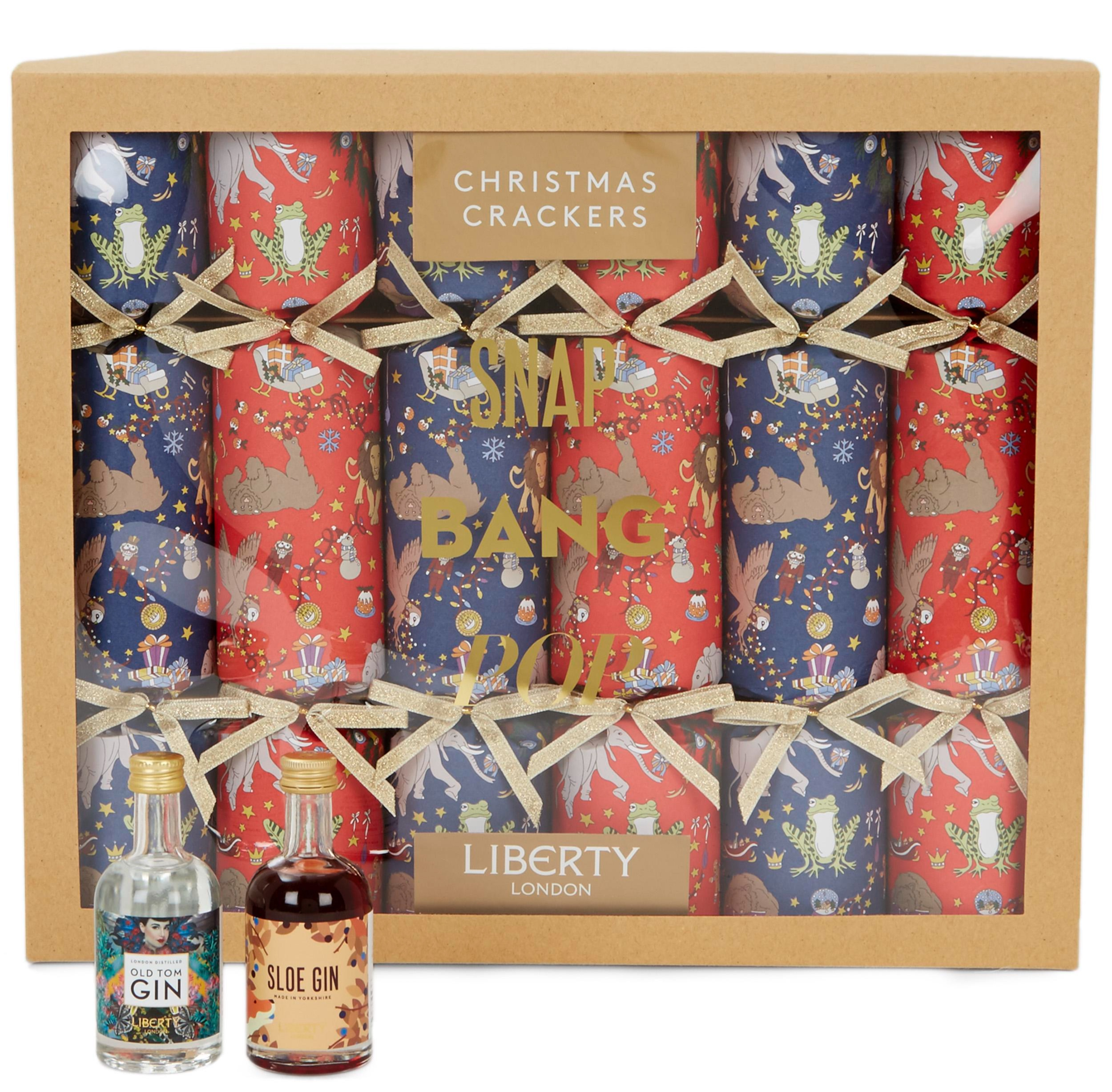 Christmas Gin Crackers   Liberty London - £65 for six