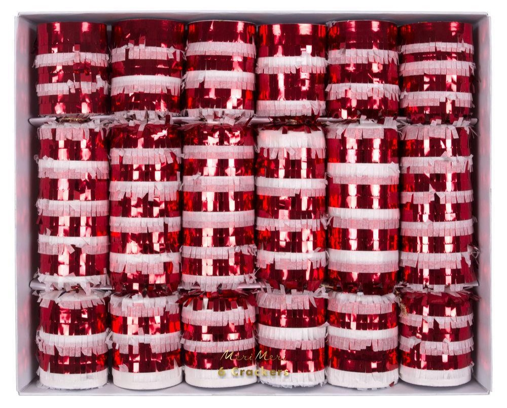 Candy Cane Crackers   Idyll Home - £21 for six