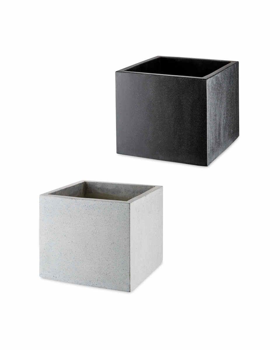 Square Terrazzo Plant Pots - £14.99