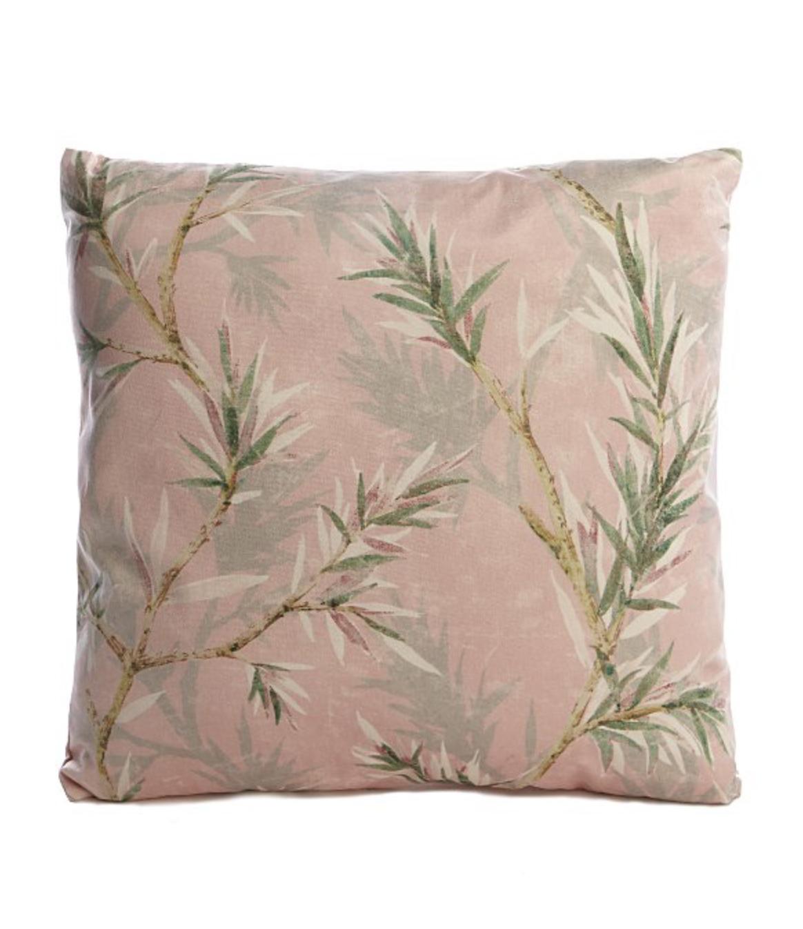 Pink Bamboo Cushion - £5