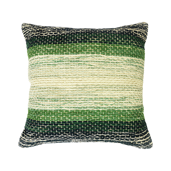 Urban Paradise Woven Stripe Cushion - £14