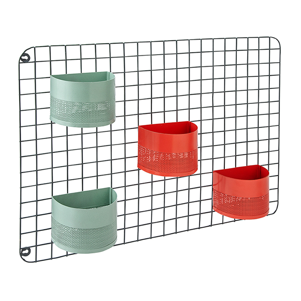 Stockholm Wire Grid With Planters - £25