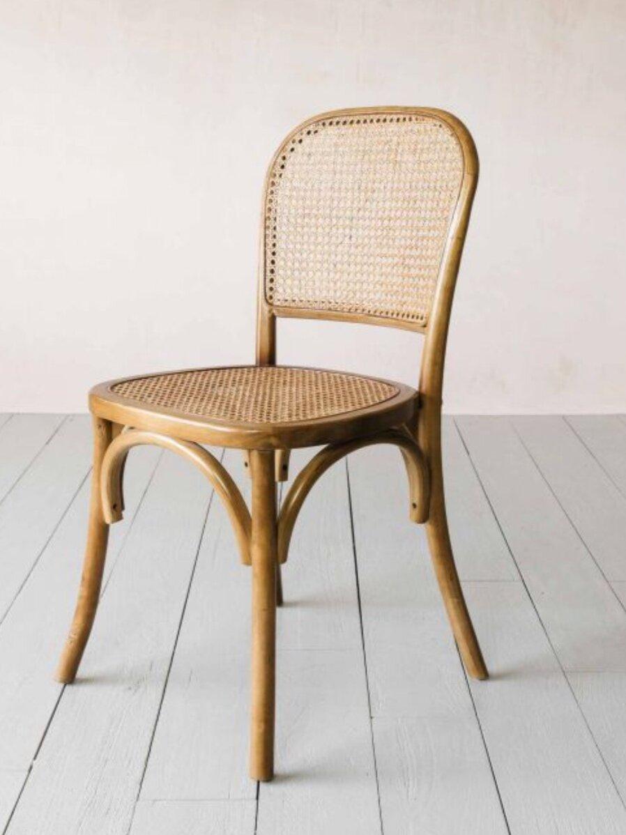 Wicker Bistro Chair, Graham & Green £165
