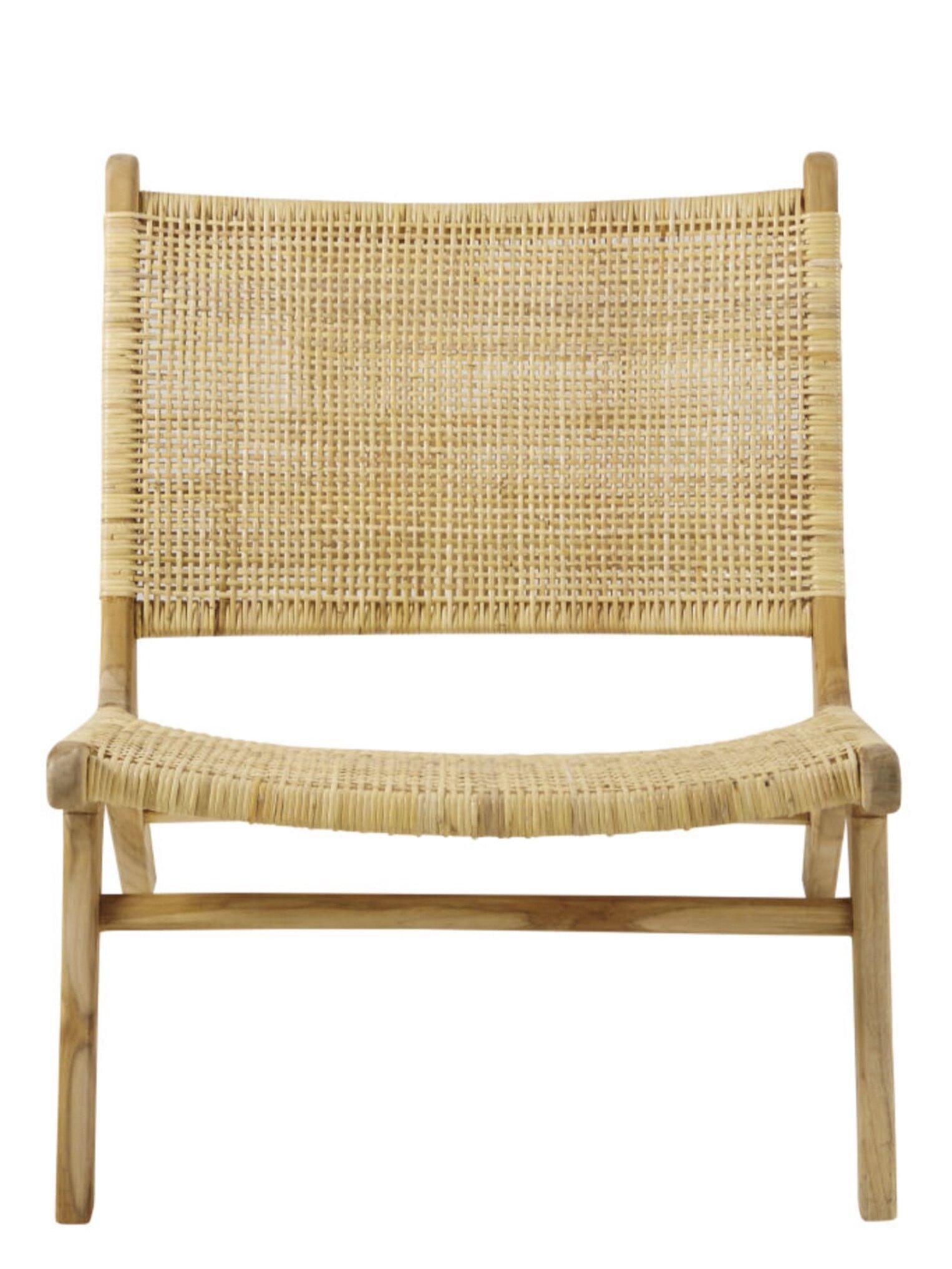 TICAO Rattan Armchair, Maisons Du Monde £314