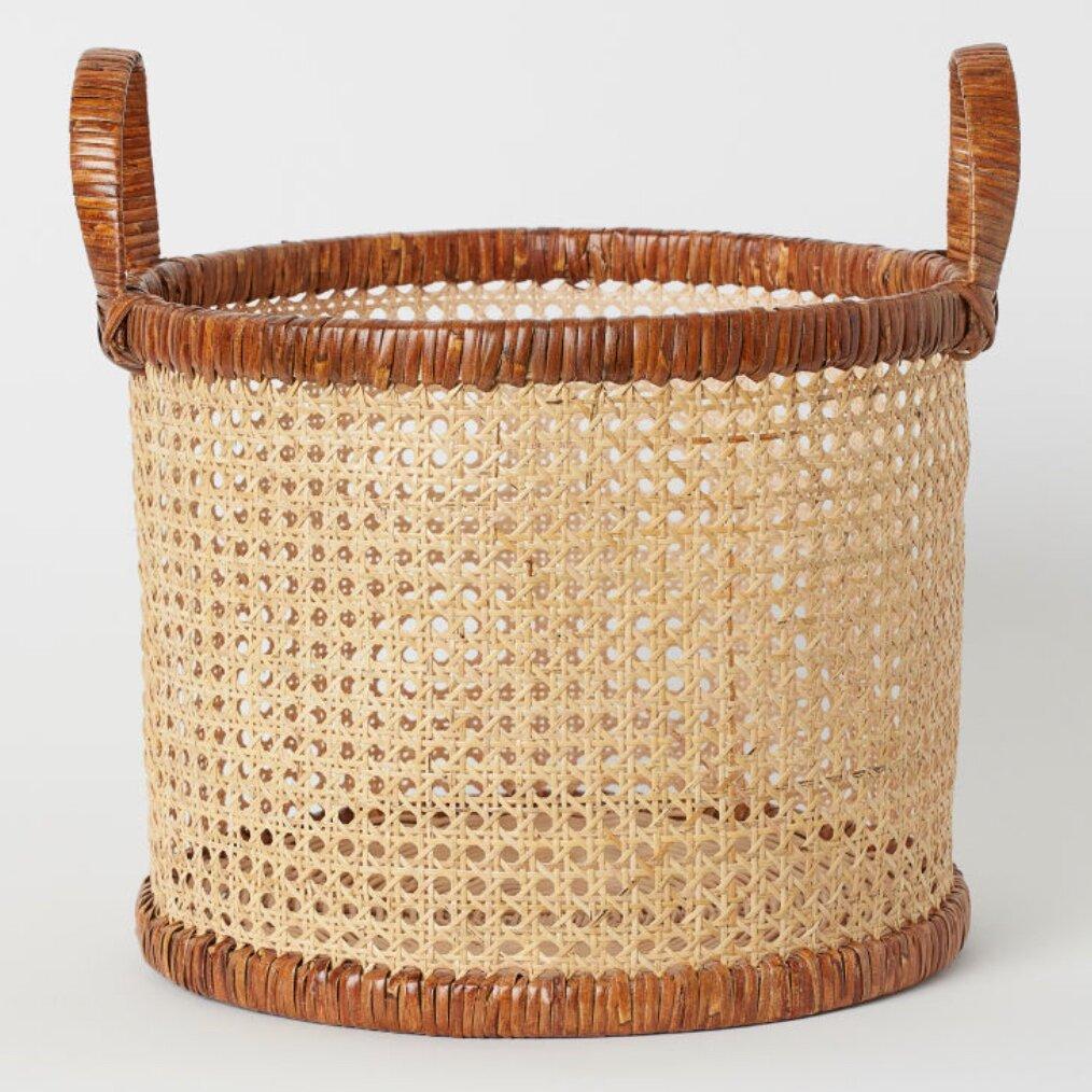 Rattan Basket, H&M £34.99