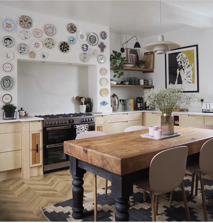 My own kitchen, it's had a veritable array of rugs over the years.
