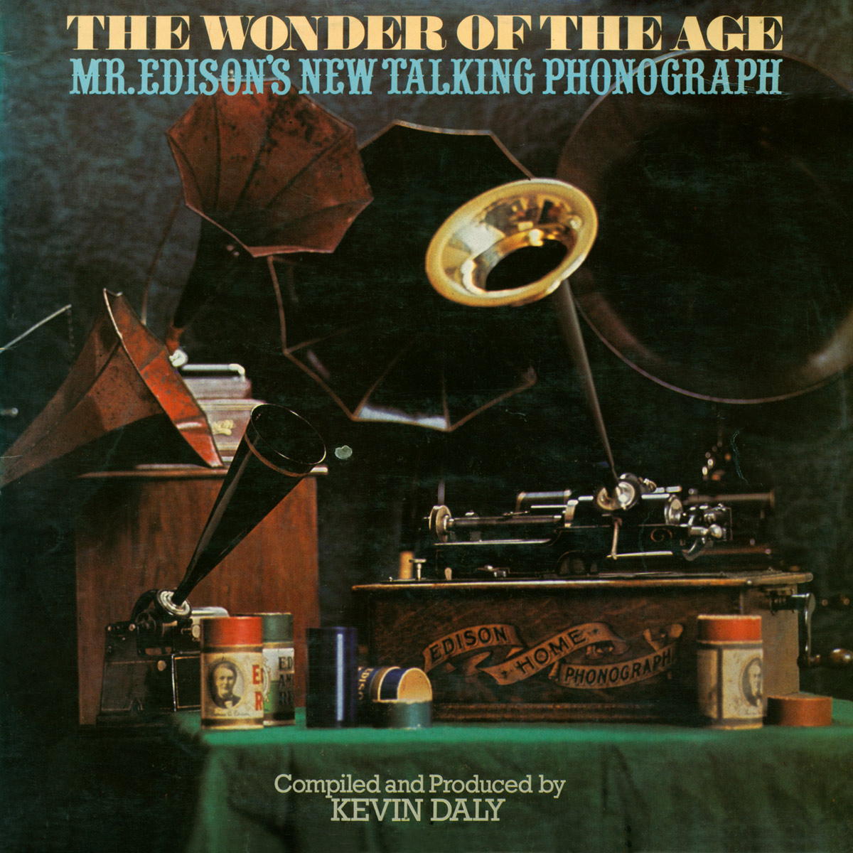 LP COVER OF 'THE WONDER OF THE AGE'