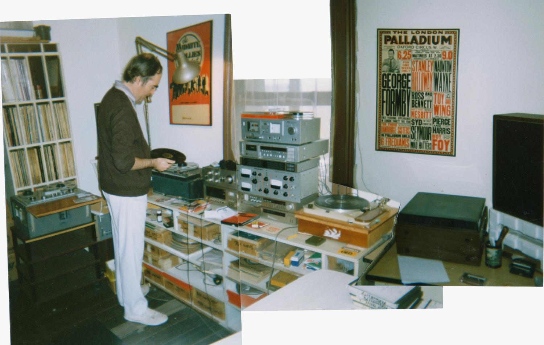 KEVIN IN HIS HOME STUDIO IN AUSTRALIA