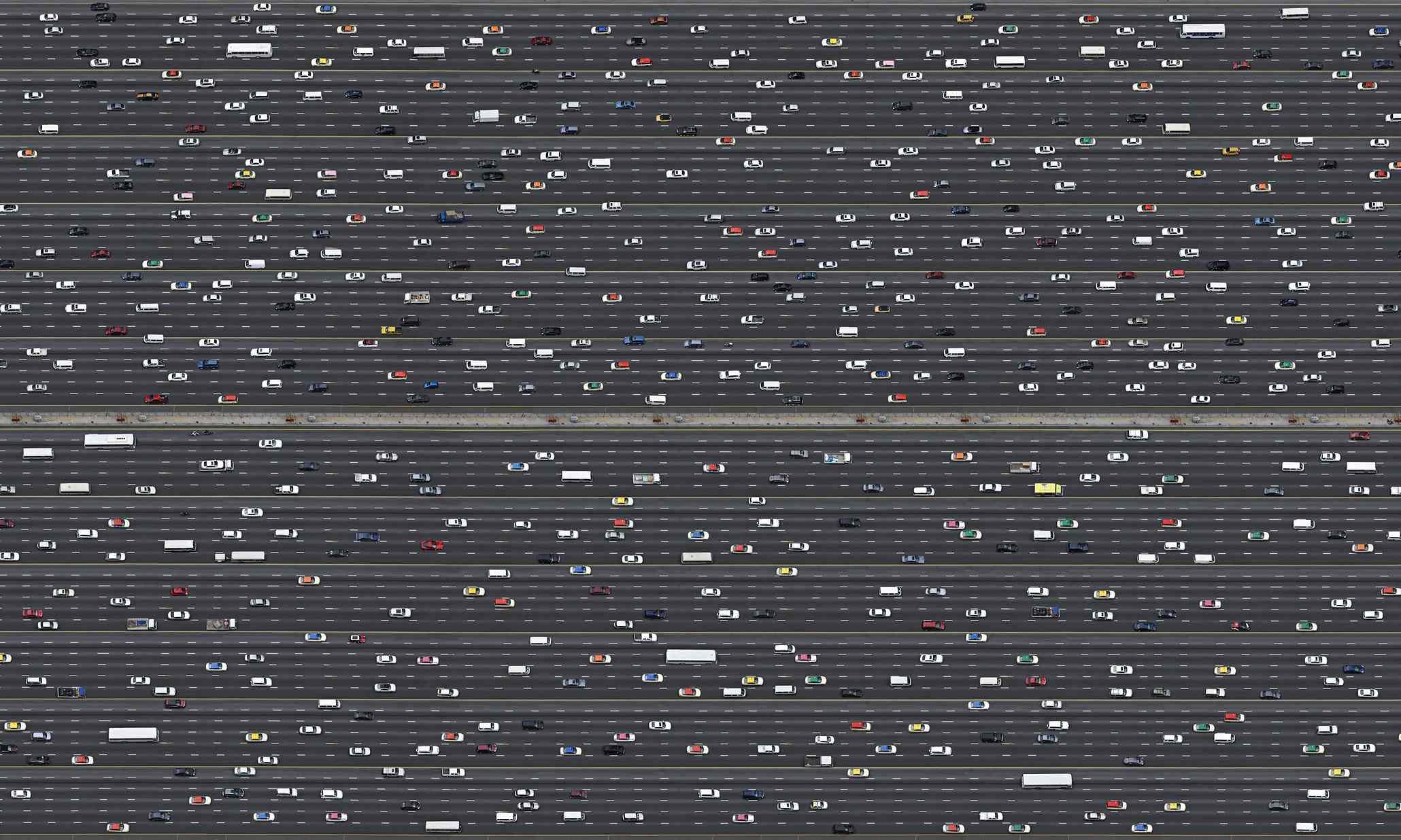 Exodus II, Sheikh Zayed Road,Dubai, UAE, 2010, by  Marcus Lyon.