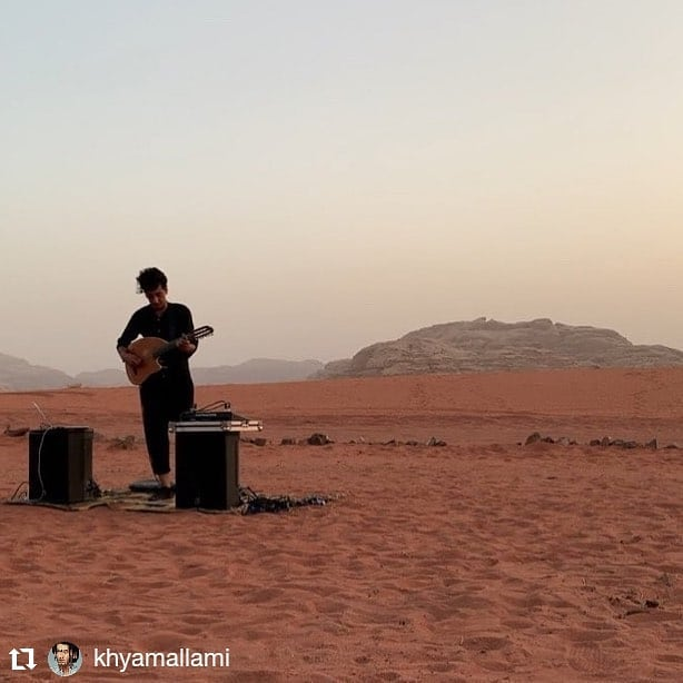 So pleased to share my interview with composer, oud player, and sound artist @KhyamAllami | July 2019 . . 🔗 Link in bio: published @icareifyoulisten . 📷 Credit: @josesparza . Khyam shares his approach to electroacoustic composition and Arabic microtonality. . . #musicjournalism #musiccritic #artsjournalism #contemporaryclassical #newmusic #composer #oud #electroacoustic #microtonality