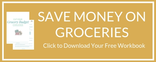 Save money on groceries workbook