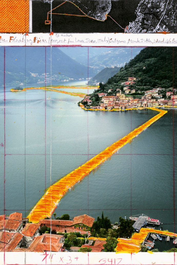 Floating Piers by Christo & Jean-Claude