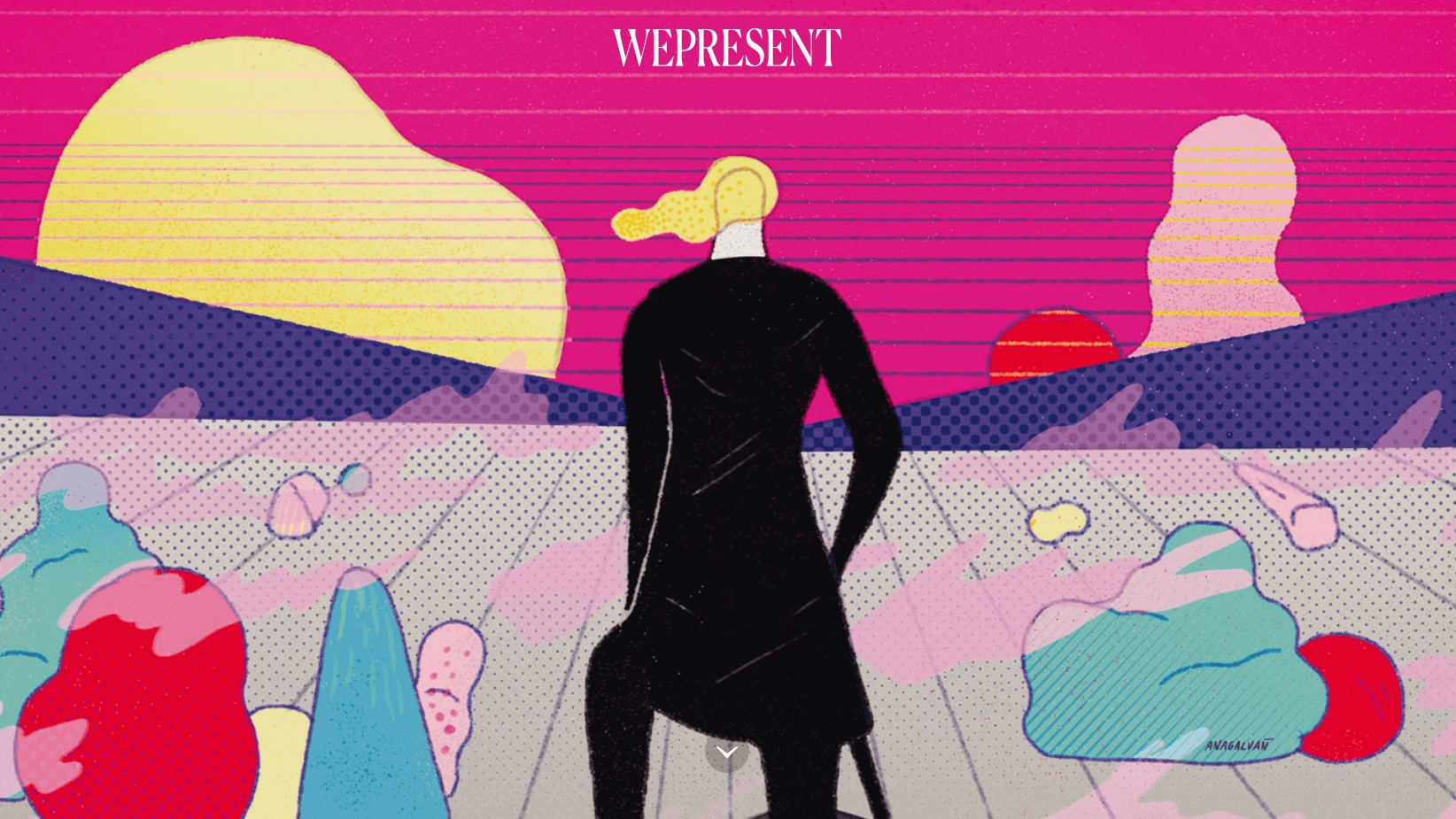 WePresent by WeTransfer, the Dutch cloud-based file downloading platform