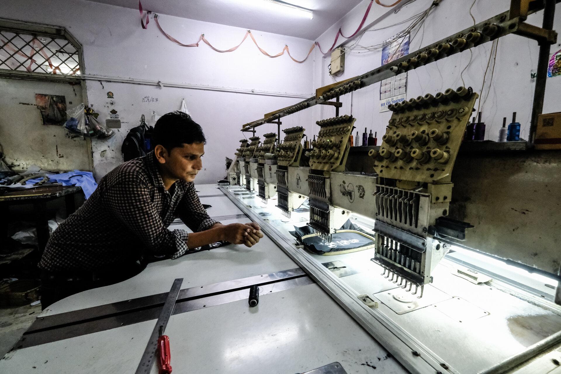 Machine Embroidery Room