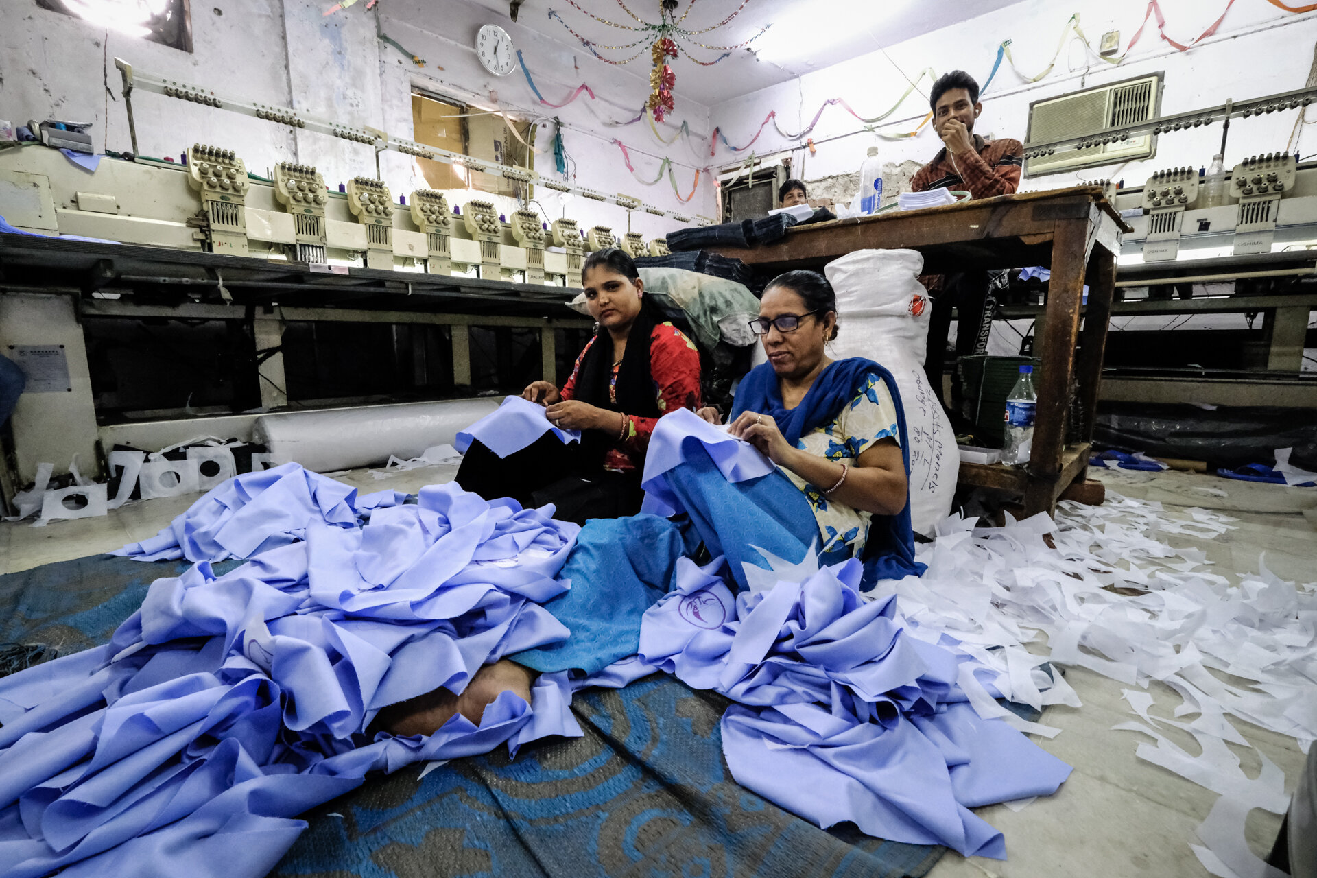 Hand Embroidery Room.