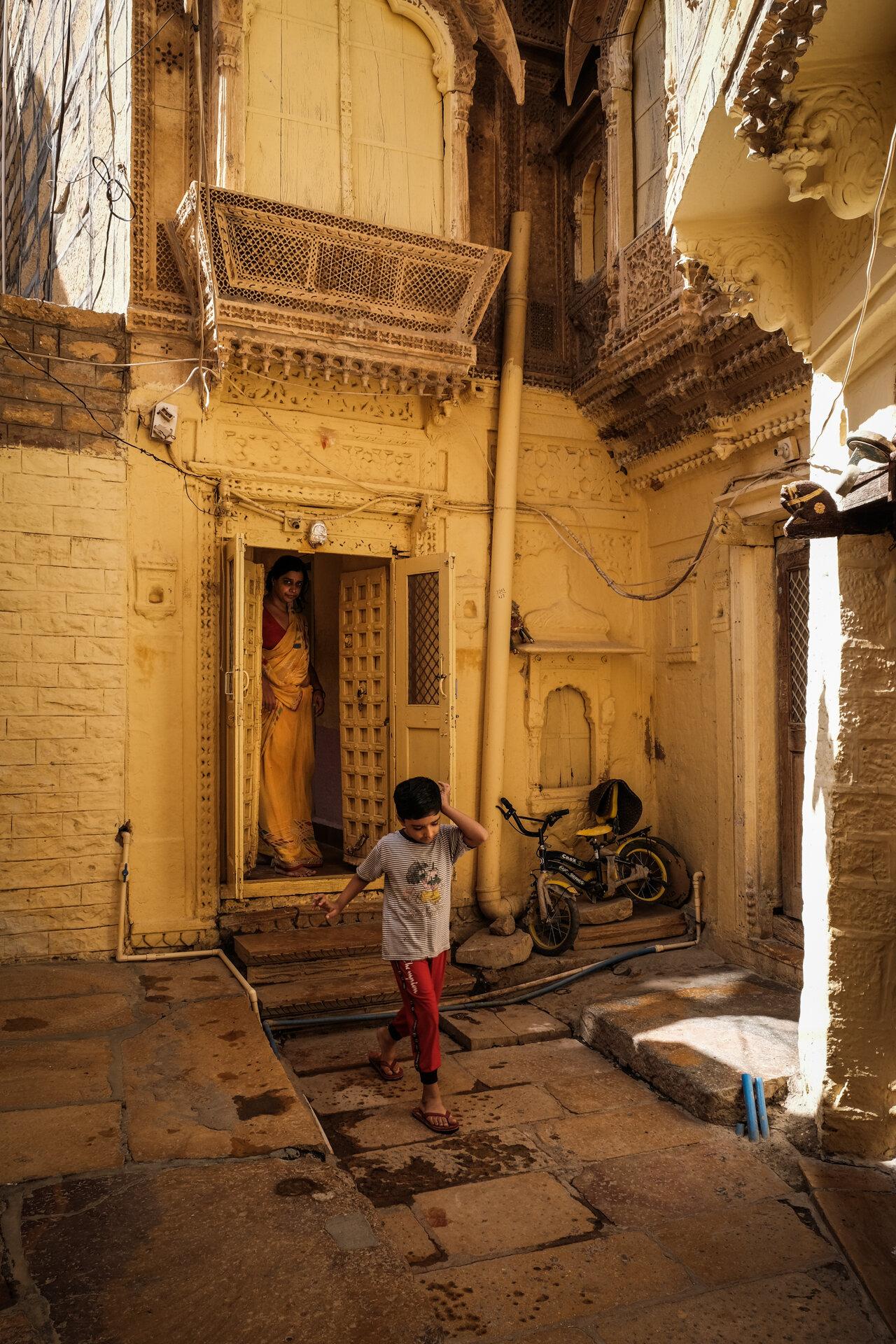 Brahmin Family in Fort House