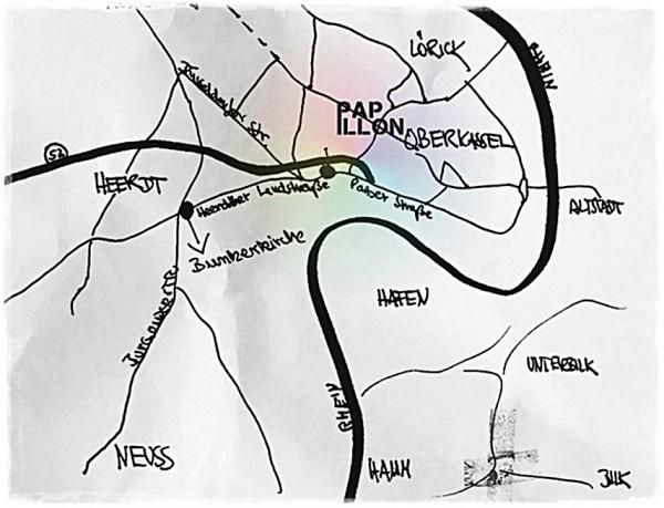 Heerdt - как найти этот район в Дюссельдорфе?