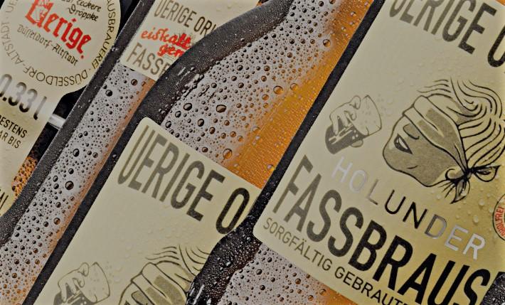 """Вот так, к примеру, выглядит этикетка """"бочкового лимонада"""" в пивоварне Юриге в Дюссельдорфе"""
