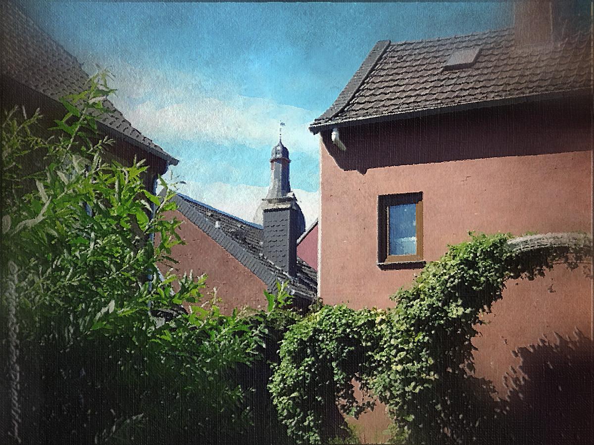 Все иллюстрации - фотокартины из живописного и такого доступного Цонса на Рейне :-)