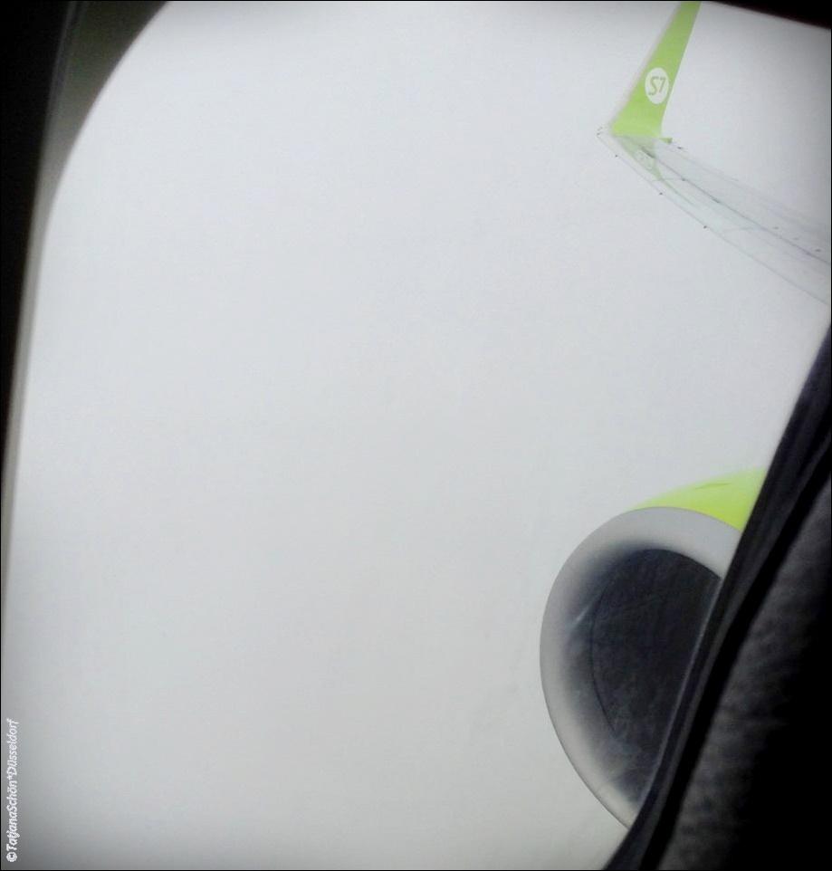 Сибирь обдала холодом! Но прямой рейс из Дюссельдорфав Домодедово - что для меня важно)
