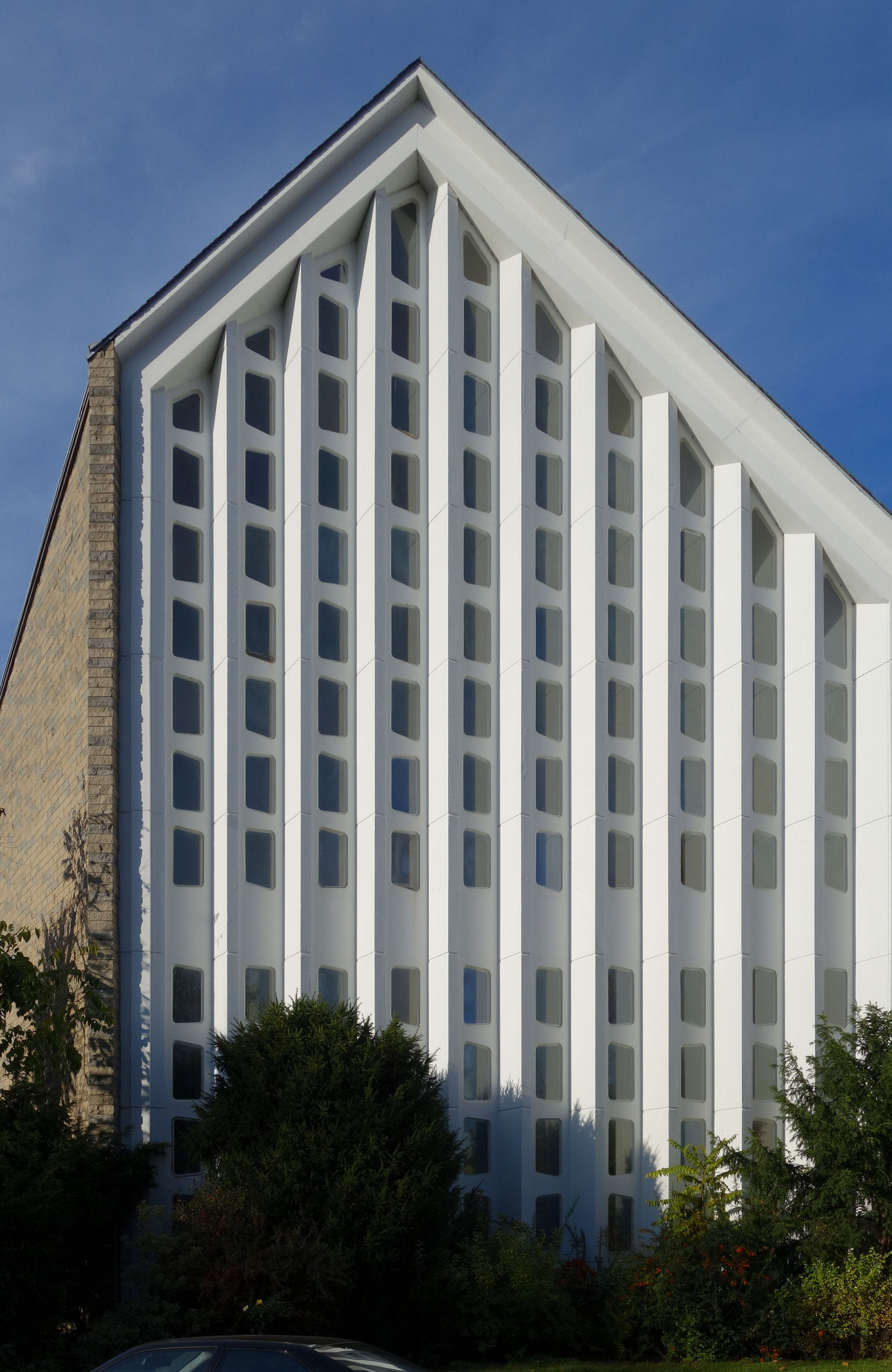 Этой евангелической церкви уже исполнилось 60 лет.