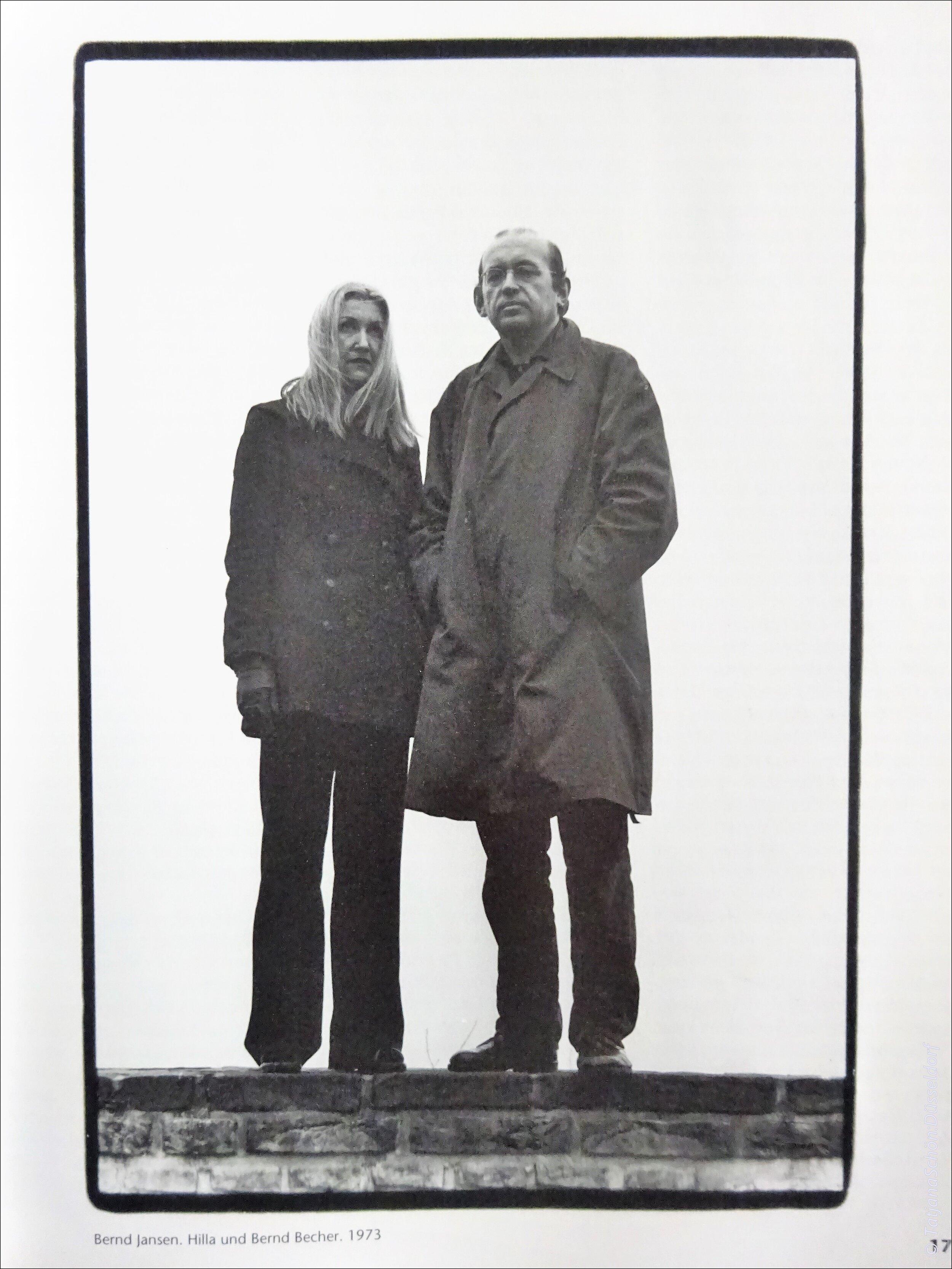 Берндт и Хилла Бехеры   , фотография Берндта Йанзена