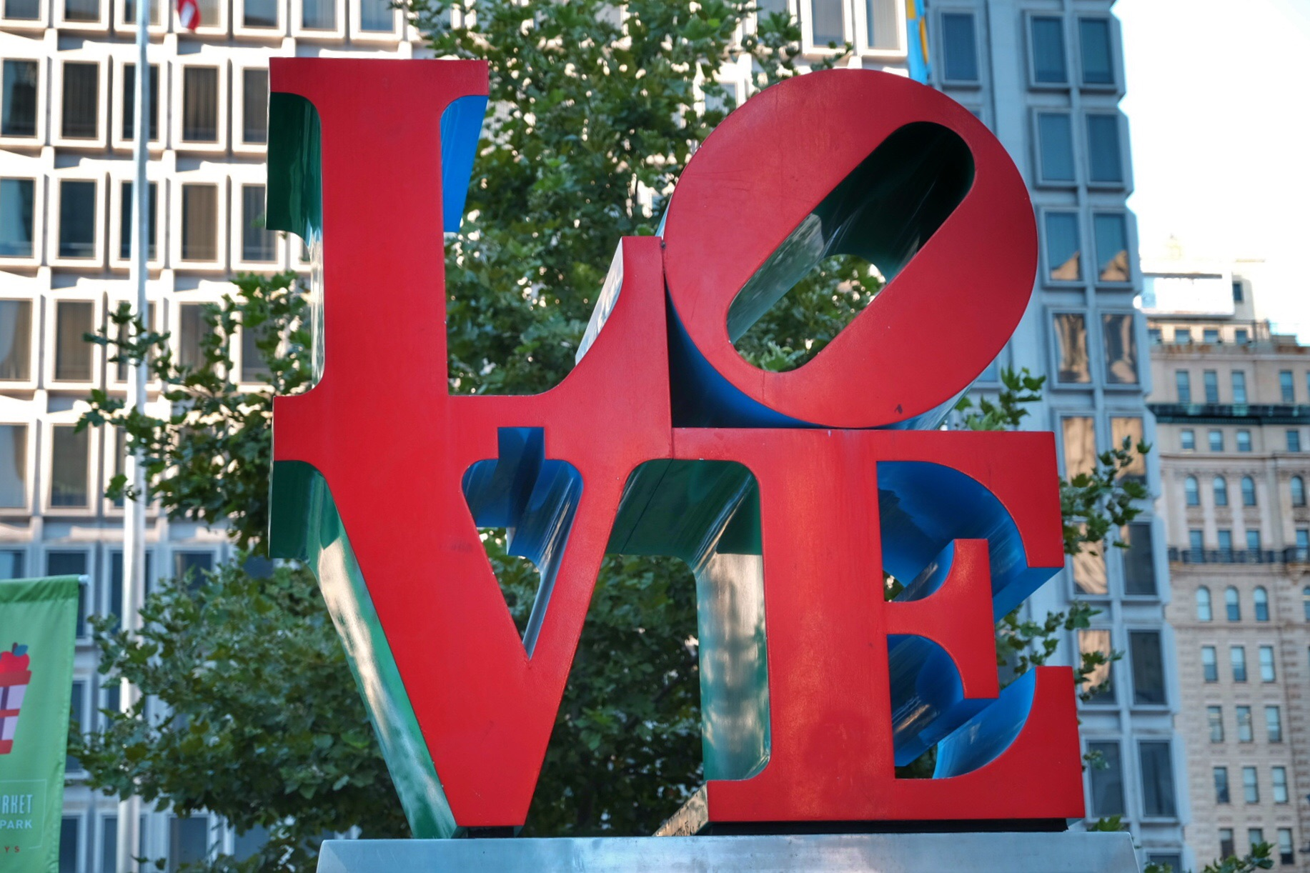 LOVE, Dilworth Park.